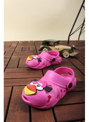 Oksit Bella Bird Bebek Çocuk Unisex Sandalet Fuşya